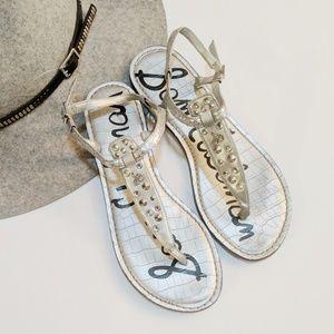 Sam Edelman • Gigi Studded Rhinestones Sandal